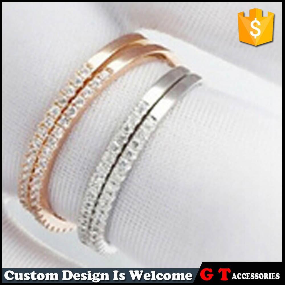 Korea Fashion Simple Design Finger Rings For Women,Latest Gold ...
