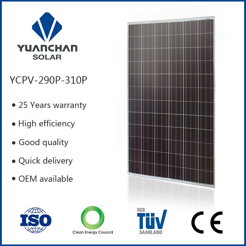 Enough power and high quality polycrystal silicon material 300 W solar panel have factory cheap price