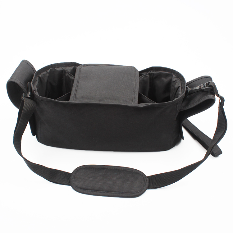 Universal Stroller Organizer with Adjustable Straps and Cup Holders Stroller Diaper Bag