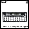 2007 Jeep Wrangler Main Grille Featuring 1-20in Dual 3D Light Bar, For Off-road Use ONLY