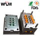 Precision plastic injection mold for electronic component
