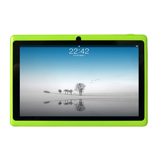 7 inch Q88 Dual Core Tablet PC Capacitive Screen Android 4.4 Tablet Dual camera Allwinner A23 with Six Colors