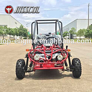 Hot sale automatic 110CC gas off road kids go karts with reverse