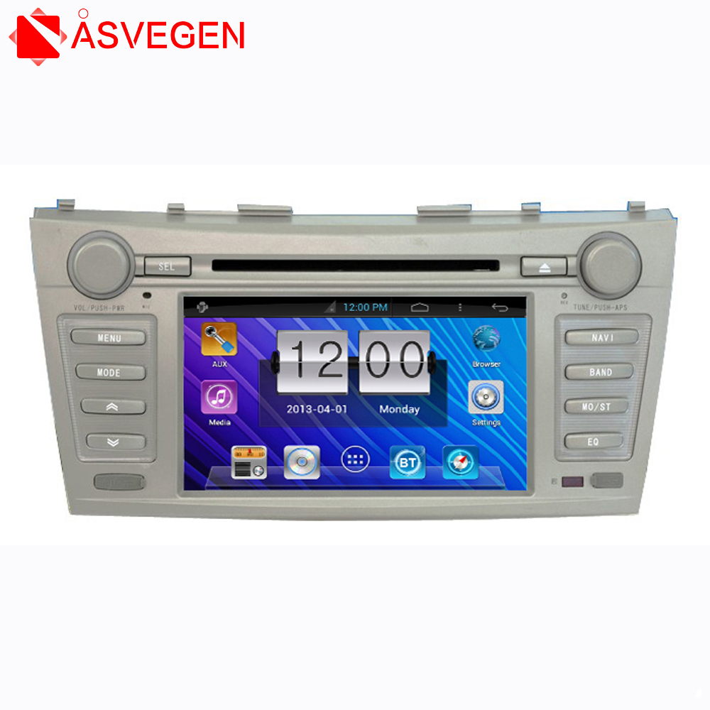 Auto Audio 2 Din Car DVD Player Touch Screen For Toyota Camry 7 inch with GPS/TV/FM/Bluetooth/MP3/SD
