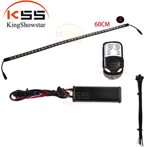 Led flexible neon lights car knight rider strip lights 5050 waterproof led strip