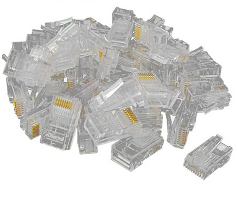 computer high-speed cable connector cat5 RJ45 network plug connector 8 core cat5 Crystal head