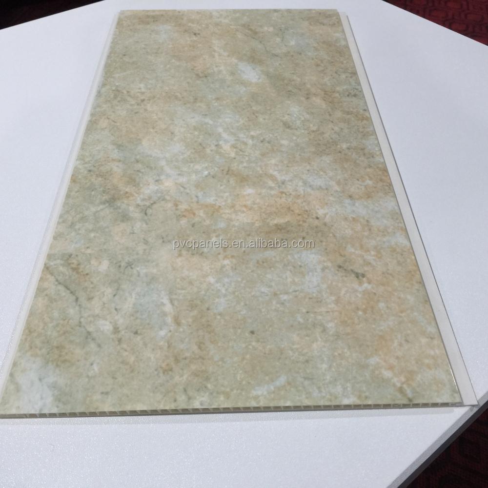 Tanche en plastique panneaux pour marbre au plafond for Panneaux pvc salle de bain