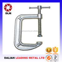 High Quality Low Price 4 inch Heavy Duty St33 Steel or Ductile Iron C clamps