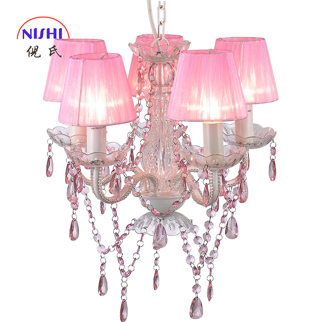 Nis Ns 120178 S Large Crystal Chandelier Wedding Centerpiece Pink