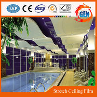 Project contemporary pvc wall panel decoration for shower and kitchen with 15-year warranty for swimming pools