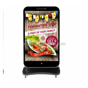 hot Standing P5 LED Display/Screen/panel indoor Digital Advertising boards