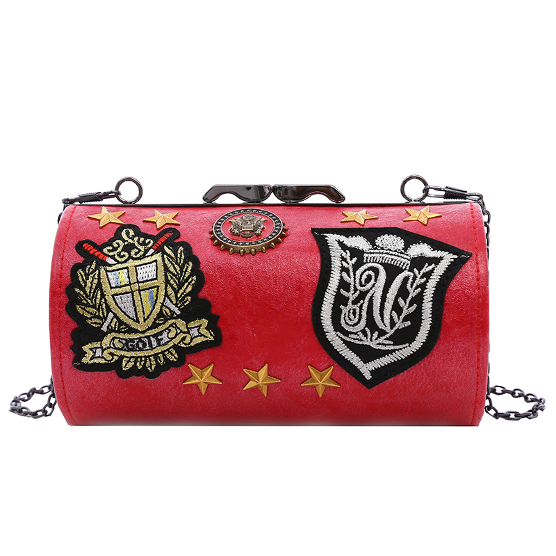 Fashion silver <strong>leather</strong> hard box evening bag <strong>clutch</strong> for party