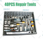 Auto common rail injectors repair tools hot products del/phi diesel injector tools diesel injector cleaning machine 40 PCS