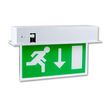 free shipping 2624a cd1e4 Recessed Emergency Led Exit Sign Light - Buy Led Exit Sign Light,Led  Emergency Exit Light,Led Emergency Exit Lighting Product on Alibaba.com