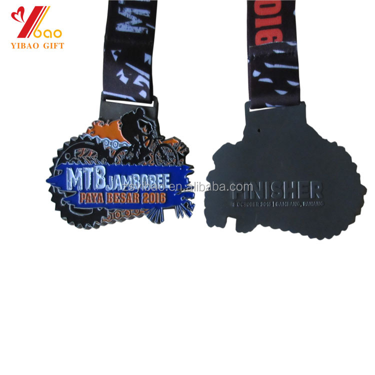 Custom 2D 3D Diecast sports Medals for Marathon events