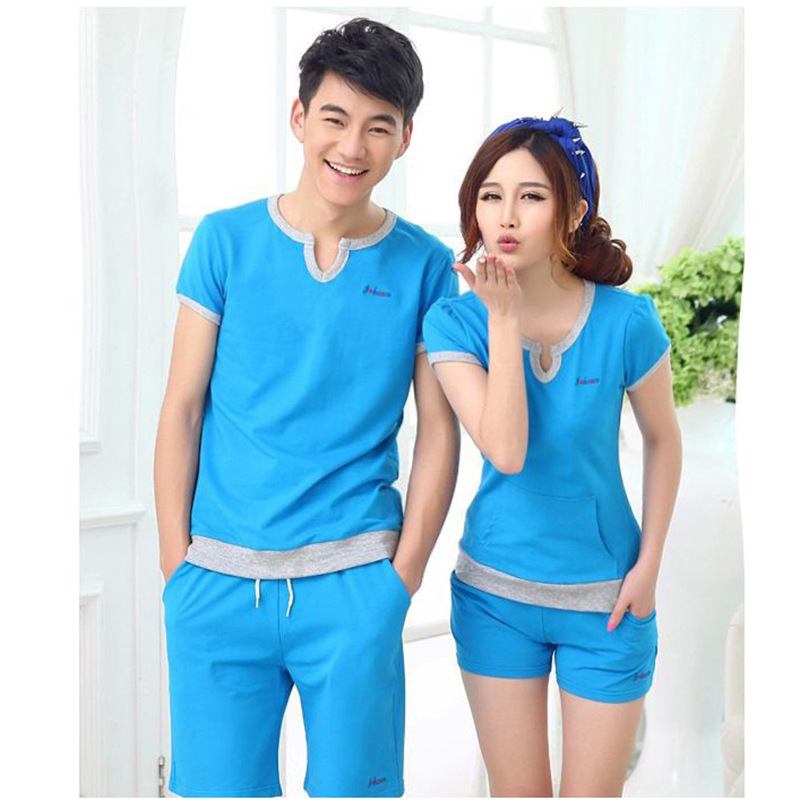 2015 korean couple shirts fashion for beach for lovers matching couple clothes couples shirts and lovers