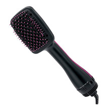 2 in 1 hair dryer and styler Comb Wholesale Professional Electric Hair Dryer Straightening Brush