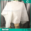 High quality PP PE disposable hair cutting capes with sleeves