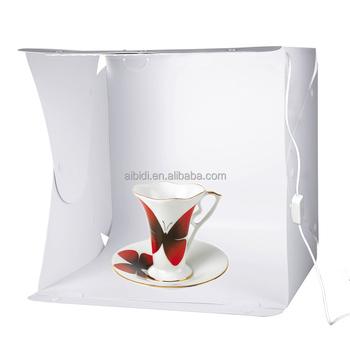 Photo Studio Light Box Tent Kit LED Lighting Portable 40*40*40cm Cube Photography  sc 1 st  Alibaba & Photo Studio Light Box Tent Kit Led Lighting Portable 40*40*40cm ...