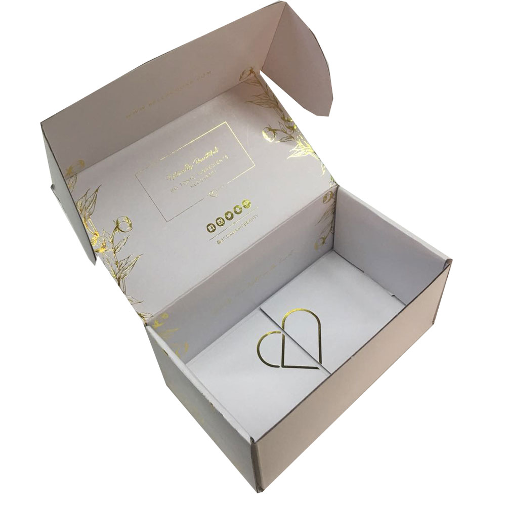 Custom print product wig packaging <strong>box</strong> for shipping