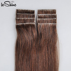 Wholesale Tape In Hair Extention Natural Looking 100% Top Grade Brazilian Human Tape Hair