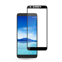 Custom size 9H 3D mobile phone touch screen protector film For Alcatel 7