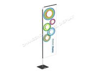 Telescopic fiberglass guide flagpole