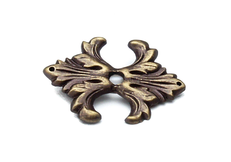 Carpe Diem Hardware 587-3 Charlemagne Escutcheon Antique Brass