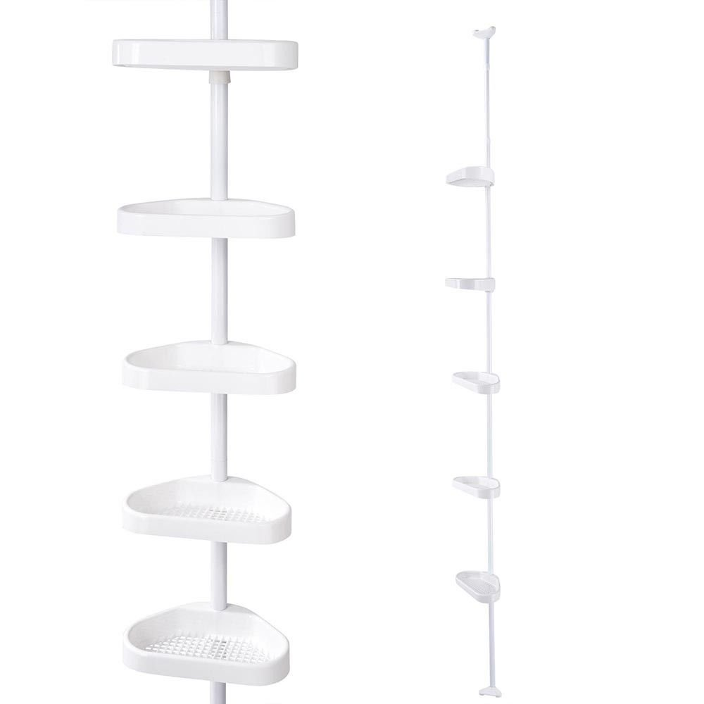 5-Layers-Shower-Corner-Pole-Caddy-Shelf-Holder-Bathroom-Storage-Rack-Organizer 5-Layers-Shower-Corner-Pole-Caddy-Shelf-Holder-Bathroom-Storage-Rack-Organizer 5-Layers-Shower-Corner-Pole-Caddy-Shelf
