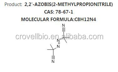 Factory supply 99.5% Azobisisobutyronitrile AIBN
