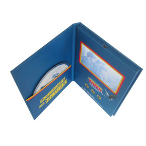 Hot selling 4.3 inch lcd digital video booklet lcd screen brochure