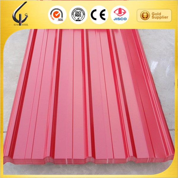 PPGI prepainted galvanized corrugated steel sheet for roofing