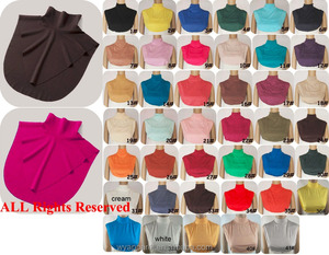 free size Plain jersey muslim hijab neck cover