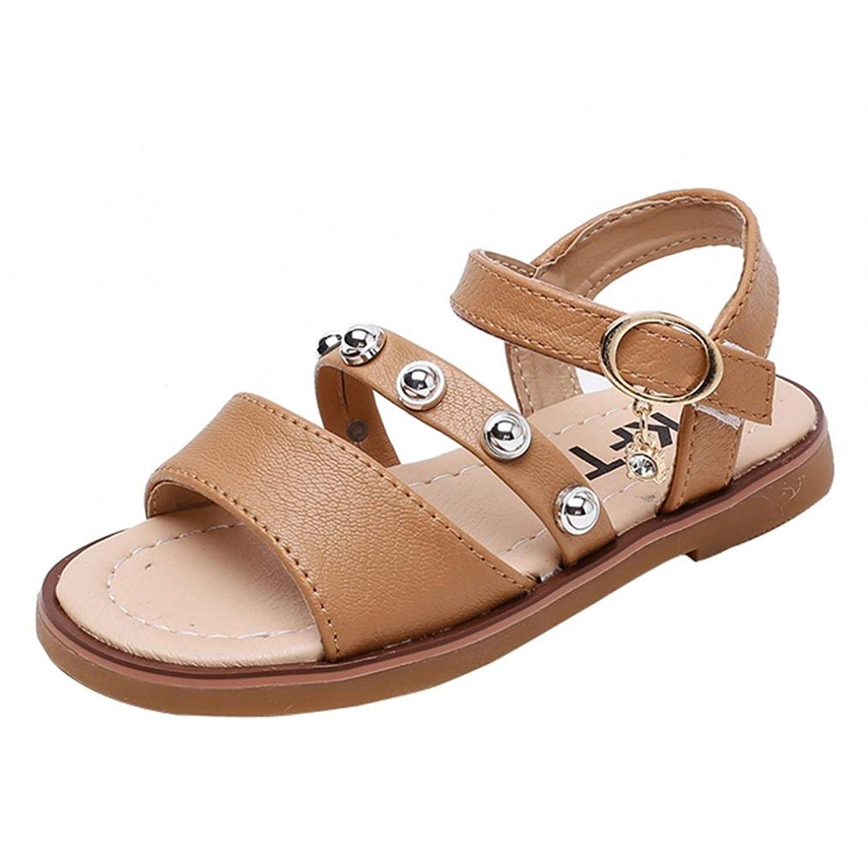 0acabcafa Get Quotations · Highpot Kids Girl s and Boy s Summer Fashion PU Leather  Soft Sandal