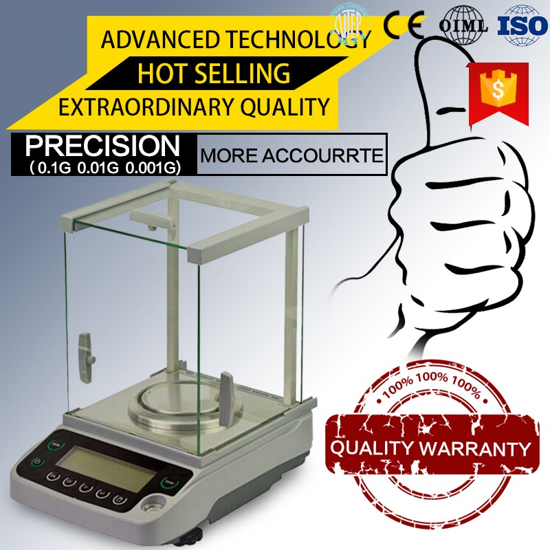 0.1mg electronic analytical precision lab scale