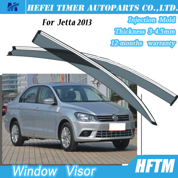 High quality PC type window visor for Volkswagen Jetta 2013