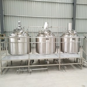 200l stainless steel mash/lauter tun for mini brewery, beer brewery equipment