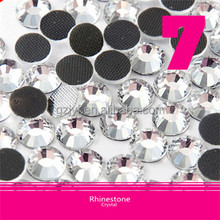 Wholesale Crystal Rhinestone Round High Quality,Ss6-Ss40 Flatback DMC Rhinestone For Shoes