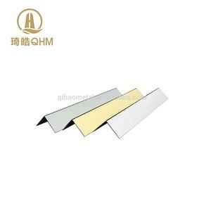 Factory direct aluminum alloy metal tile trim wall corner guard for wall edge corner protection
