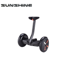 Blue tooth Self balancing electric smart balance 2 wheels electric scooter with Handle white and black