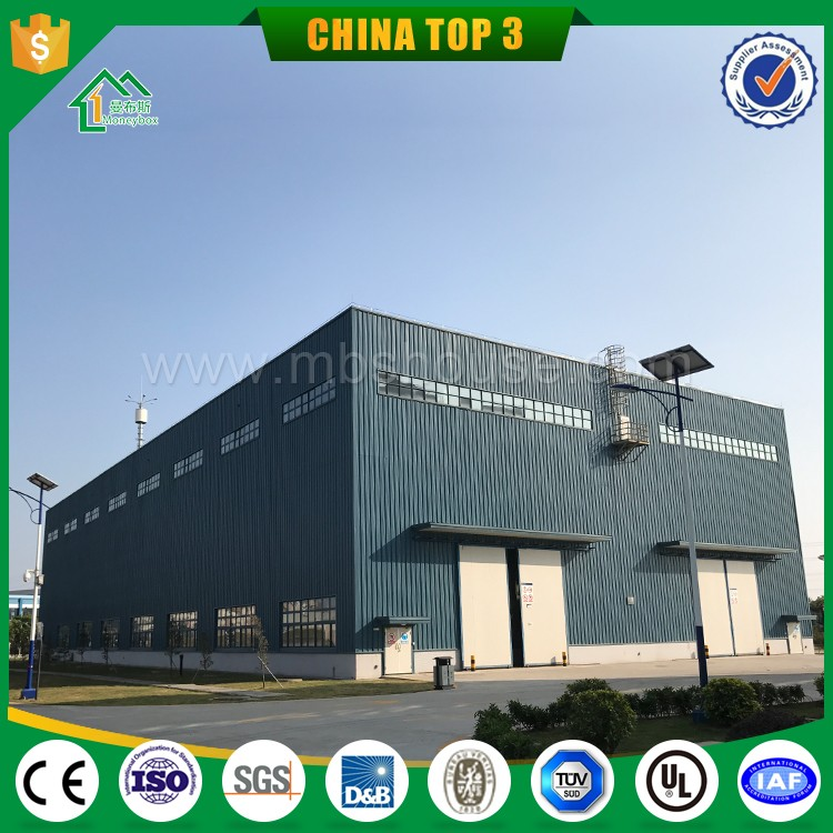 Guangzhou Low Cost Prefab Warehouse for Sale