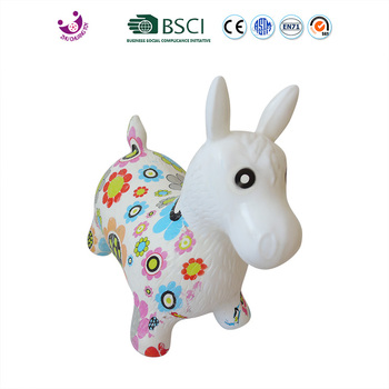 Color Print Inflatable Horse Jumps Standards - Buy Horse Jump ...