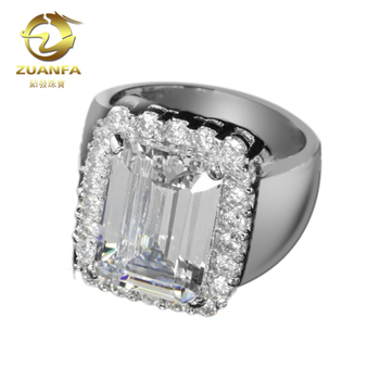 10a5e9154 ebay trend hot aaa quality cz diamond sterling silver 925 thailand ring