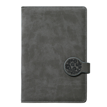 a5 hardback notebook with elastic band,embossed logo pu leather custom bullet journal