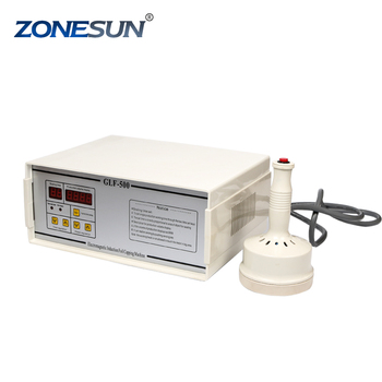 ZONESUN GLF-500 portable magnetic induction bottle sealer 20mm to100mm