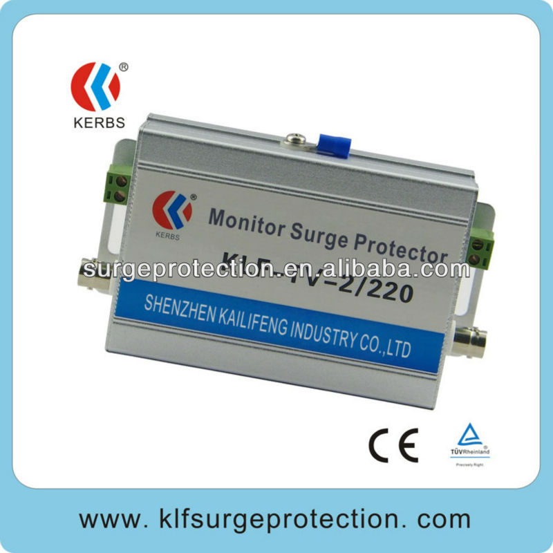 2-in-1 cctv 220V surge protection for cctv protect network camera