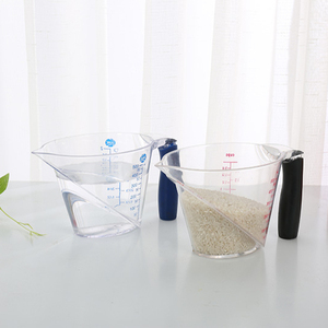 Amazon Hot Selling PS Material Transparent Measuring Cups Drink Vessel 500ml
