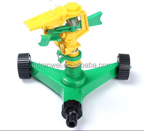 Plastic Three-arm Garden Sprinkler
