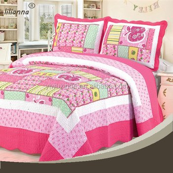 King Size 3d Patchwork Quilt Patterns Luxury Bedding Set Buy