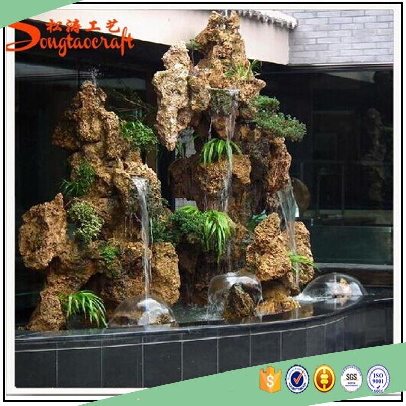 prefab venta al por mayor fuentes de interior pared cascadas para el hogar